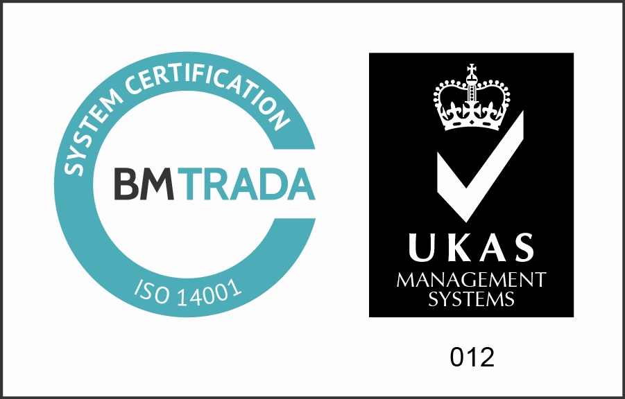 BM Trada Certification Mark ISO 14001 2013